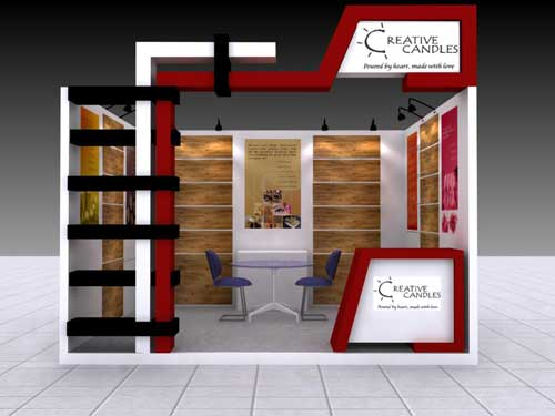 Creative Exhibition Stall Design : Business promotional services eservices delhi